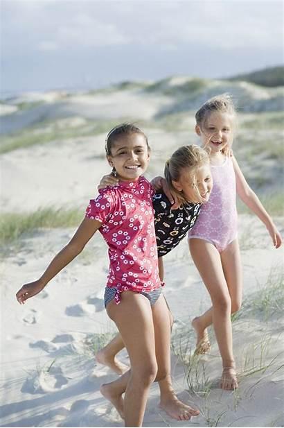 Beach Feet Swimwear Bikini Bathing Babies Fun