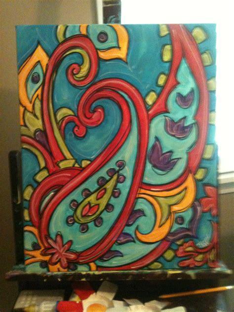 Using Acrylic Painting Ideas  Horner H&g