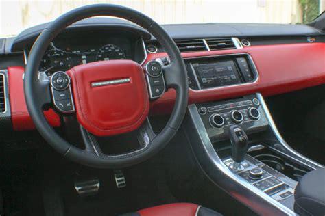 week   range rover sport svr automobile