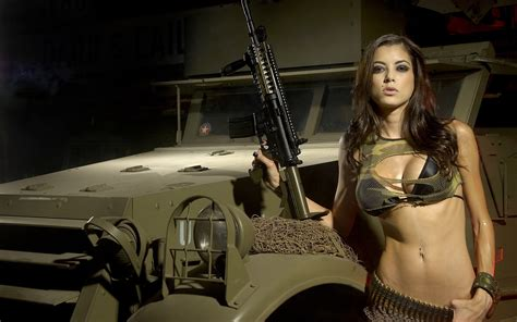 girls  guns wallpaper  images