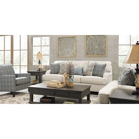 Linen Loveseat by Traemore Linen Sofa 2740338 Furniture Afw