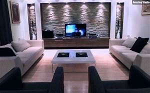 Wohnzimmer Ideen Wand : wohnzimmergestaltung wand beispiele wohnzimmerwande ideen streichen und modern gestalten ~ Sanjose-hotels-ca.com Haus und Dekorationen