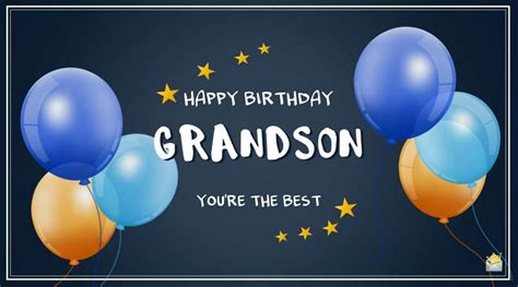 original birthday wishes   grandson