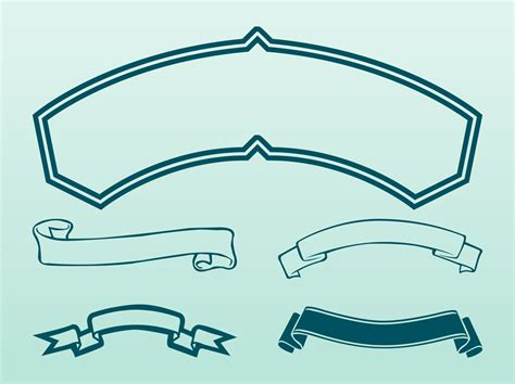 ribbon vector clipart   cliparts  images