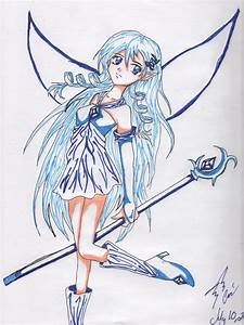 Ice Fairy-unfinished marker by LightningFox196 on DeviantArt