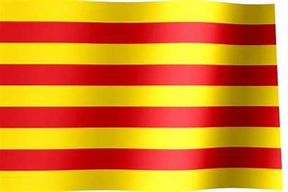 Catalonia Flag Waving Flags Allwavingflags Animated Spain