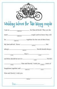 Bridal Shower Gift Bingo Cards by 17 Best Ideas About Wedding Mad Libs On Pinterest Mad
