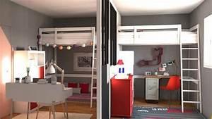 separer chambre en 2 chaioscom With diviser une chambre en deux