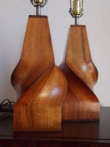 koa wood studio design lamps for sale at 1stdibs With koa wood floor lamp