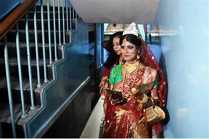 Transgender India Indian Couple Ceremony Marry Married