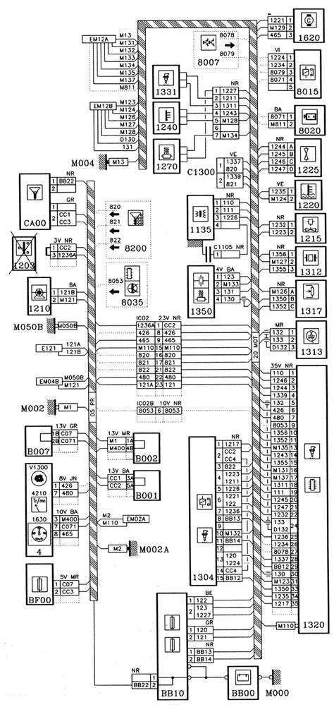 Peugeot 106 Wiring Diagram by Peugeot 106 Engine Type Tu1mz L Injection Mmg6 Wiring