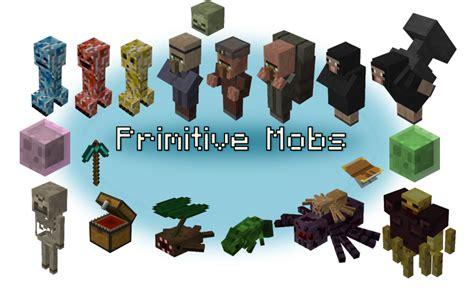 Halloween Monster Names List by Mod Mob Primitive Mobs 1 10 2 Minecraft Aventure Com