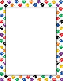 Watch more like Paw Print Page Border