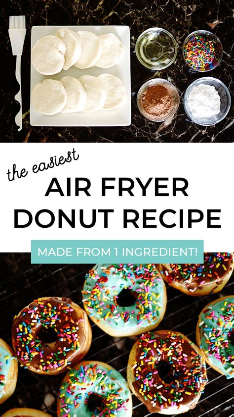 fryer air recipes donut recipe easiest grands brepea biscuits using donuts