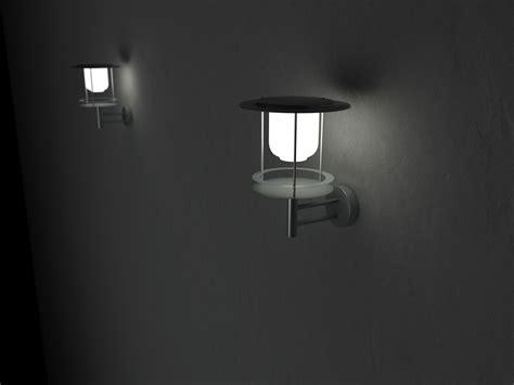 cambridge solar powered contempory wall light envirogadget