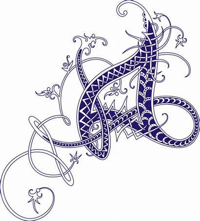Letter Clip Designs Alphabet Letters Fancy Svg