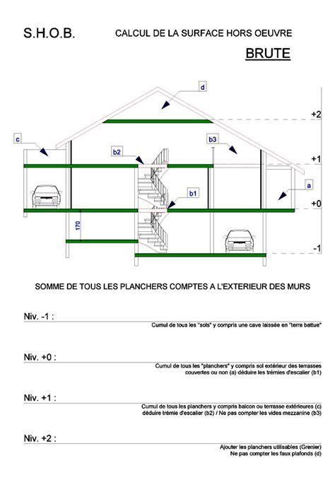 les surfaces d 233 finition et calcul jusqu au 29 02 2012 c 244 t 233 plans plans de maison permis