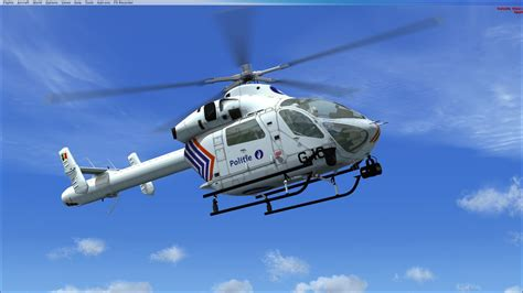 Belgian Federal Police MD902 Explorer for FSX