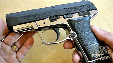 Daisy Powerline 5501 Blowback Co2 Bb Pistol Table Top