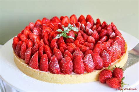 l all 233 e des desserts la tarte aux fraises