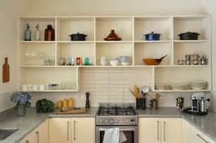 kitchen island shelves open kitchen shelving