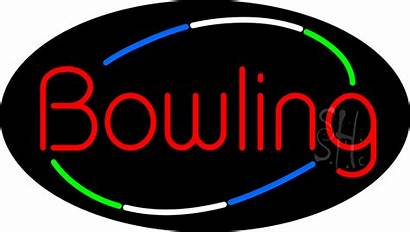 Bowling Neon Sign Animated Signs