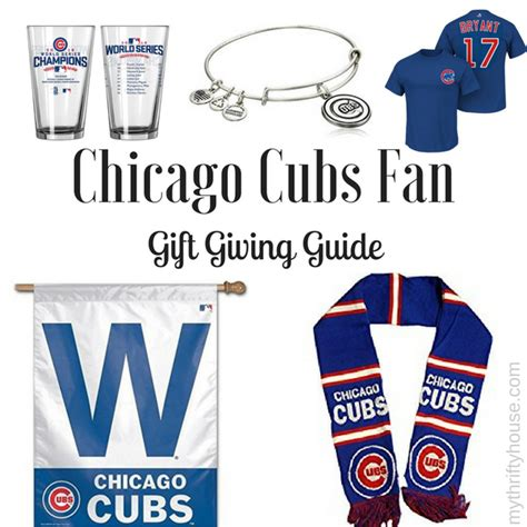 gifts for cubs fans chicago cubs fan gift giving guide my thrifty house
