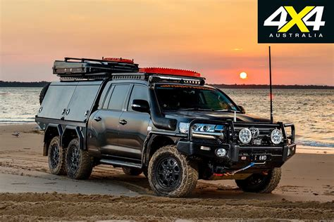 Review Toyota Land Cruiser by Custom Toyota Land Cruiser 200 6x6 Review