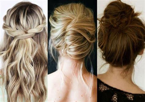 coiffure mariage invitée cheveux mi tuto tuto coiffure cheveux mi et en 9 id 233 es faciles