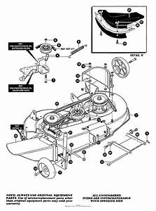 Mowers Lawn Tractor Diagram