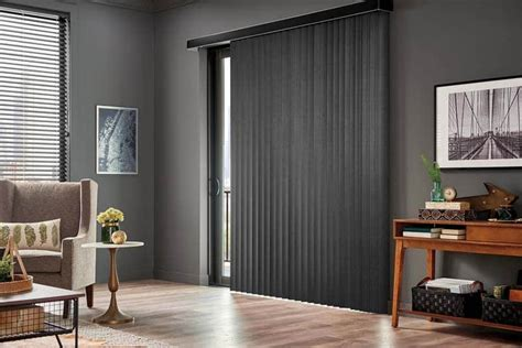 Window Treatments Vertical Blinds by Vertical Blinds For Sliding Glass Doors Or Large Windows