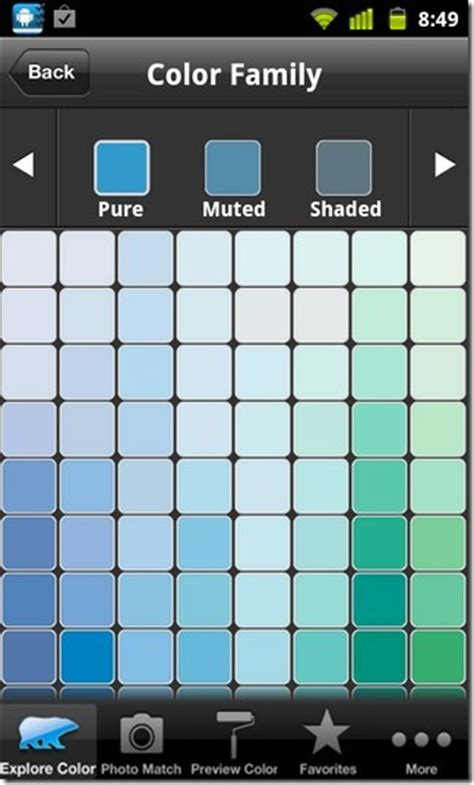colorsmart for android eye dropper tool for behr paint