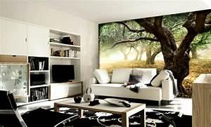 Fototapete Für Wohnzimmer : wandgestaltung mit fototapeten ~ Sanjose-hotels-ca.com Haus und Dekorationen