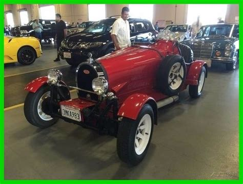 1927 Bugatti 35 Musuem Movie Recreation Replica Vw Kit