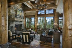rustic home interior cowboy heaven a warm rustic retreat decor advisor