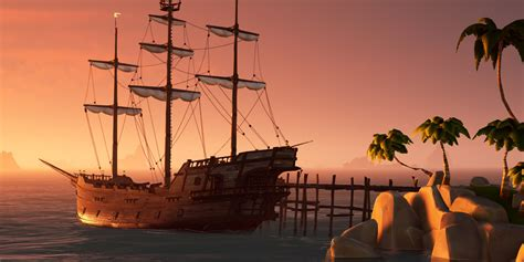 Sea of thieves xbox series x gameplay review of this optimized experience providing a native 4k resolution at 60fps. Sea of Thieves Finally Gets A Release Date | Screen Rant