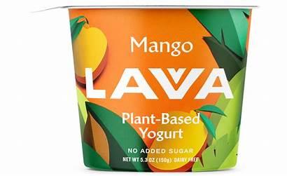 Packaging Plant Based Yogurt Bright Simple Modern