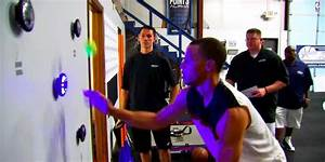 Stephen Curry Flashing Lights Dribbling Drill - Business ...