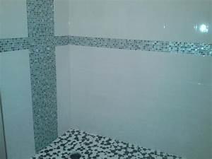 Pose Douche Italienne : pose carrelage mosaique douche italienne ~ Melissatoandfro.com Idées de Décoration