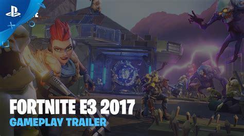 fortnite gameplay trailer ps youtube
