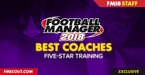 football manager 2018 best coaches for 5
