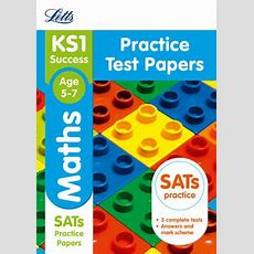 Ks1 Maths Sats Practice Test Papers By Letts Ks1 Waterstones