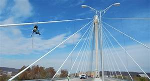 US Grant Cable Stay Bridge Inspection | Burgess & Niple