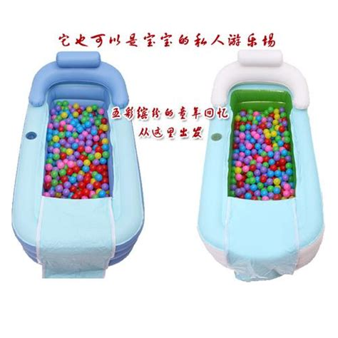 size 155 80 45cm with pump inflatable bathtub thickening
