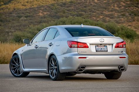 2009 Lexus Isf by Review 2009 Lexus Is F Pursues Perfection Might Need