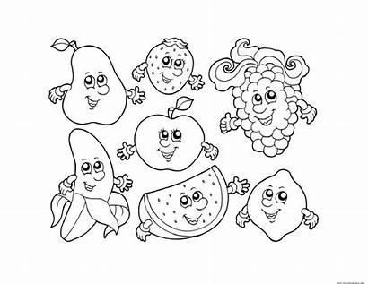Fruit Coloring Salad Pages Printable Getcolorings Inside