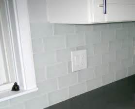 frosted glass backsplash in kitchen glass tile design 4 less