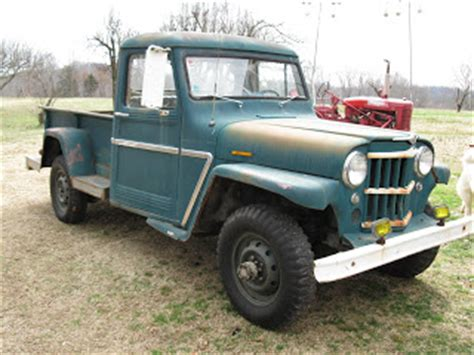 1962 willys jeep pickup jeep pickup rebuild the 1962 willys jeep