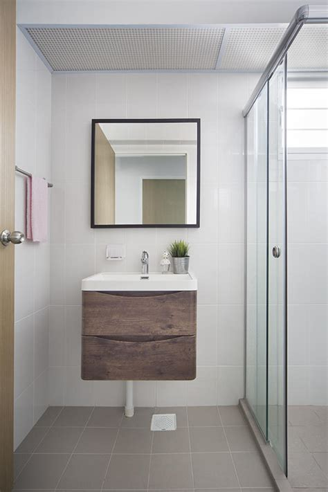 bathroom design ideas  simple contemporary hdb flat