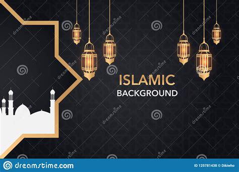 tren  banner masjid background erlie decor